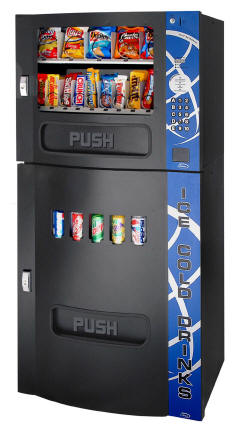 Seaga HF 2500 / HF2500 Vending Machine