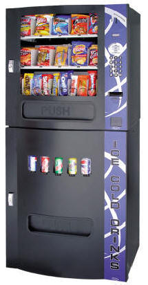 Seaga HF3500 /  HF-3500 Elite Series Snack / Soda Combo Vending Machine By Seaga From BMI Gaming