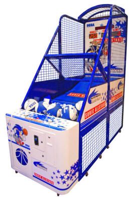 Sega Sonic All Stars Basketball Arcade Machine - Coin Operated Sports Arcade Game From Sega Amusement
