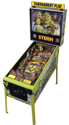 Shrek Pinball Machine From Stern Pinball