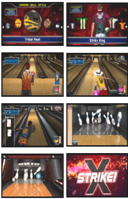 Silver Strike Bowling LIVE Bowling Video Arcade Game Screenshots