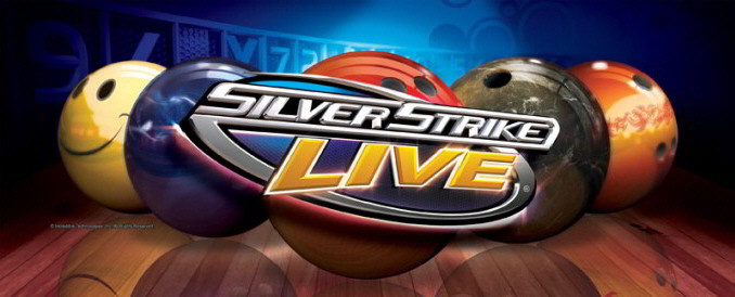 Silver Strike LIVE Bowling Video Bar Arcade Game |  Logo