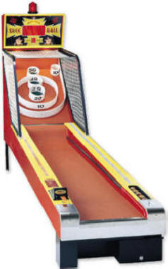 Skee Ball Classic Alley Roller Bowling Game Arcade Machine By Skeeball Amusement Games
