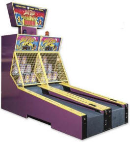 Scat Cats Alley Roller By Skeeball From BMI Gaming