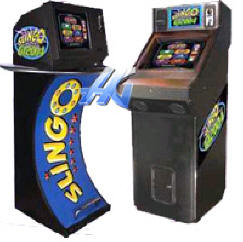 Slingo GT Countertop Video Game From BMI Gaming | Worldwide Game Delivery: 1-866-527-1362
