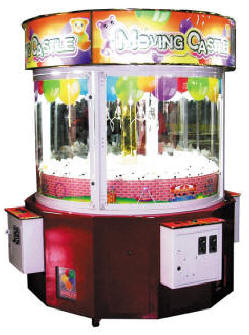 Moving Castle Four 4 Player Multi Crane Machine | By Smart Industries