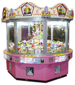 Moving Castle Eight 8 Player Multi Crane Machine | By Smart Industries