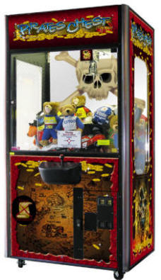 Pirates Chest PT Crane Machines | By Smart Industries