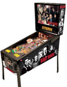 The Sopranos Pinball Machine By Stern | Worldwide Sopranos Pinball Machine Delivery From BMI Gaming