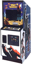 Space Invaders Video Arcade Game Cabinet, Midway Manufacturing, circa 1978