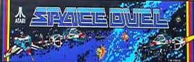 Space Duel Video Game - Atari 1982