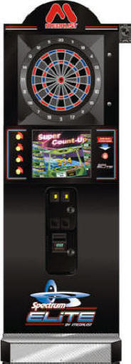 Medalist Spectrim Elite M Dartboard / Commercial Coin Operated Bar Electronic Dart Board Machine By Medalist Marketing