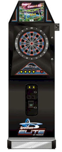 Medalist Spectrim Elite T Dart Board / Commercial Coin Operated Bar Electronic Dartboard Machine By Medalist Marketing