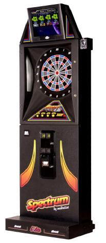 Spectum Avanti Elite T Closeout Model Dartboard / Dart Machine By Medalist From BMI Gaming: 1-800-746-2255