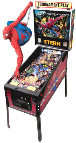 Spiderman Pinball Machine From Stern Pinball
