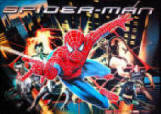 Spiderman Pinball Machine Backglass | Worldwide Spider-Man Pinball Machine Delivery From BMI Gaming