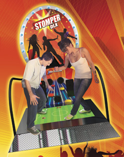 Stomper DLX Video Arcade Interactive Dance Exer Fitness Game From Trio Tech