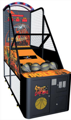 Street Basketball II 2 Compact Basketball Arcade Game Machine From Benchmark Games