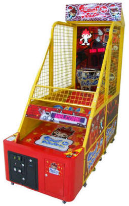 Street Basketball XS Kids | Children's Basketball Arcade Game Machine From Benchmark Games