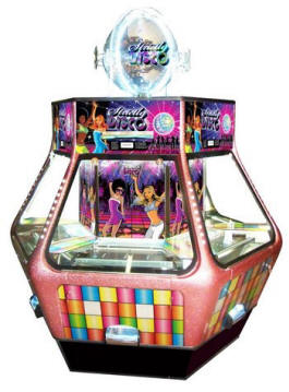 Strictly Disco Coin Pusher From SEGA Amusements
