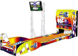 Super Strike Bowling Alley Arcade Bowling Machine From LAI Games