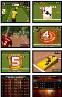 Target Toss Pro : Bags  and Lawn Darts Video Arcade Game Screenshots