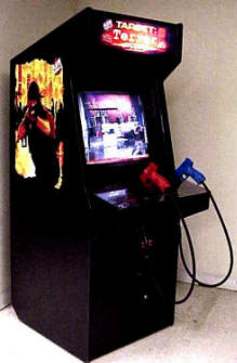 Discontinued Upright Video Arcade Games Reference Page T Z