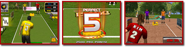 Target Toss Pro : Bags Video Arcade Game Screenshots From BMI Gaming - 1-800-746-2255