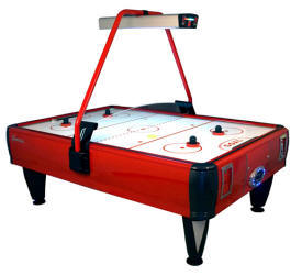 Genesis Double Wide Air Hockey Table - Coin Operated