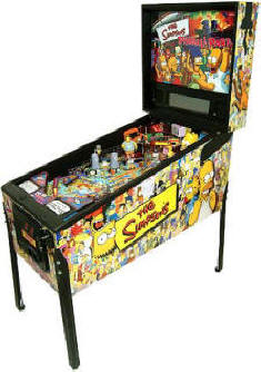 The Simpsons Pinball Party Pinball Machine - TSPP - By Stern | From Arcades Direct / BMIGaming.com: 1-866-527-1362