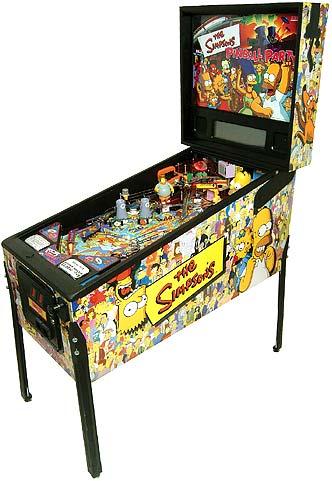 The Simpsons Pinball Party Pinball Machine  | Worldwide Simpsons Pinball Machine Delivery From BMI Gaming