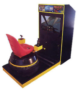 "Tsumo Jr. / Junior 39"" Motion Simulator Video Arcade Game - No Bubble Dome Model From Tsunami Visual Technologies"