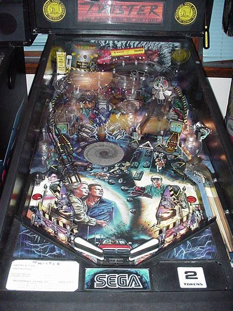 Discontinued Pinball Machines Reference Page T T