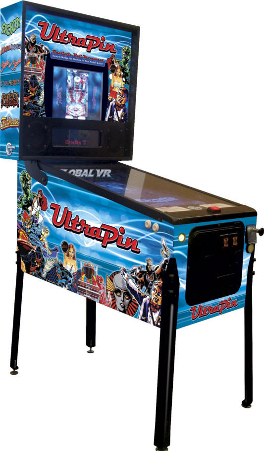 UltraPin Digital Pinball MachineFrom Global VR and Ultracade Technologies