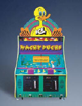 Wacky Ducks Hammer Arcade Game Ticket Redemption Game From ICE Games