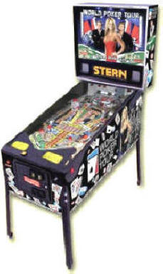 World Poker Tour Pinball Machine WPT Pinball Machine From Stern Pinball