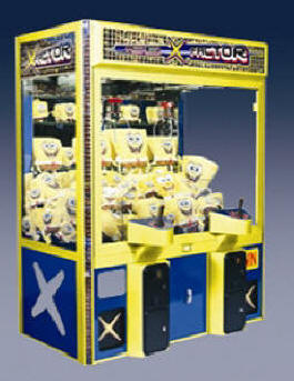 "X-Factor 60"" Jumbo Crane Redemption Game From ICE Games"