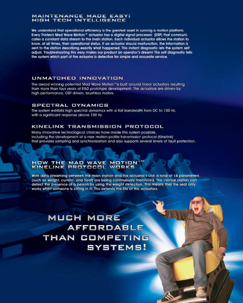 XD Theater Motion Simulator Theater Ride Brochure - Page 5