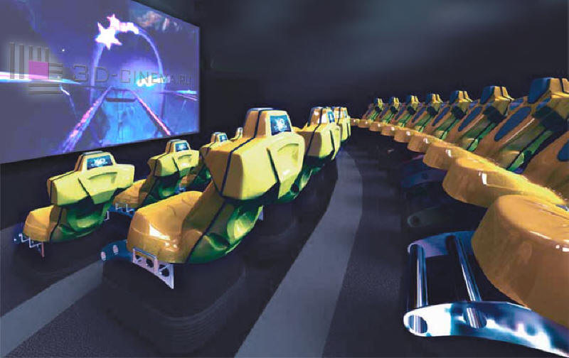 XD Theater - 3D Motion Theater Ride - Live Interior Picture 1
