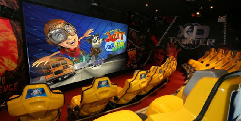 XD Theater - 3D Motion Theater Ride - Live Interior Picture 2