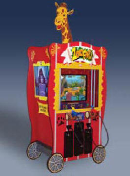 ZooFari Video Arcade Game Ticket Redemption Game From ICE Games