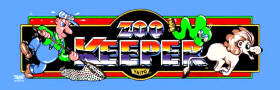 Zoo Keeper Video Game - Taito 1984