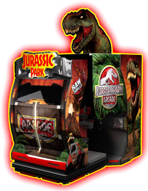 JURASSIC PARK ARCADE MOTION DELUXE | 2015 BOSA GOLD MEDAL AWARD  |  VIDEO ARCADE GAMES