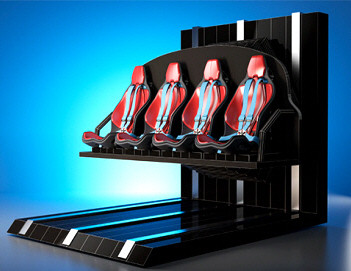 SUPERNOVA XD CINEMA MOTION RIDE | 2015 BOSA SILVER MEDAL AWARD  |  MOTION SIMULATOR RIDES