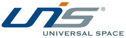 UNIS / UNIVERSAL SPACE LOGO