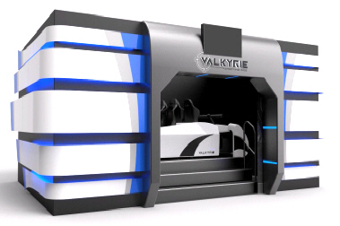VALKYRIE INTERACTIVE MOTION THEATER | 2015 BOSA GOLD MEDAL AWARD  |  MOTION SIMULATOR RIDES