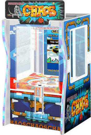 Chaos Arcade Ticket Redemption Ball Drop Game From Benchmark Games