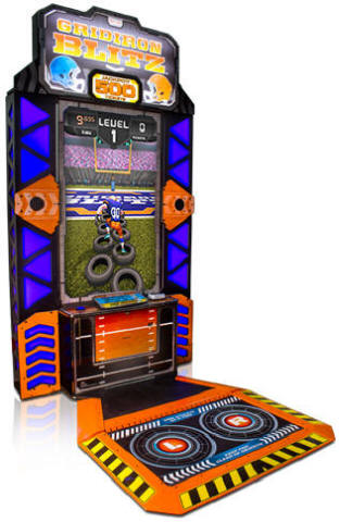 Gridiron Blitz Football Videmption Arcade Game From Baytek Games