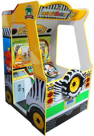 Let's Go Safari Arcade- Kids Edutainment / Kidtainment Video Arcade Game From SEGA