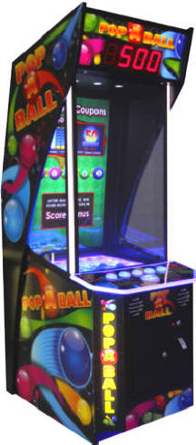 Pop A Ball Arcade Ticket Videmption Ball Game From Coastal Amusements